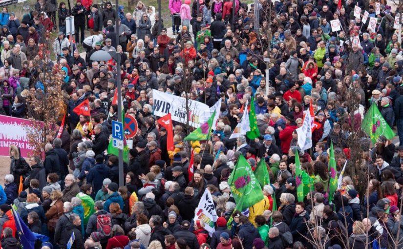 Demo #WirsindLandau #Wirsindmehr am 09.03.2019