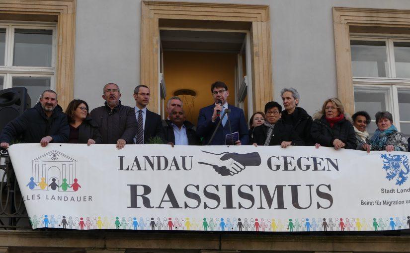 Eröffnung der Landauer Wochen gegen Rassismus am 11.03.2019