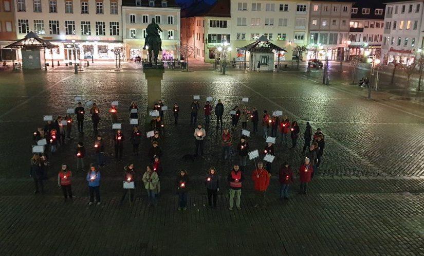 Gedenkveranstaltung: Bewegte Lichter gegen das Vergessen 16.03.2019