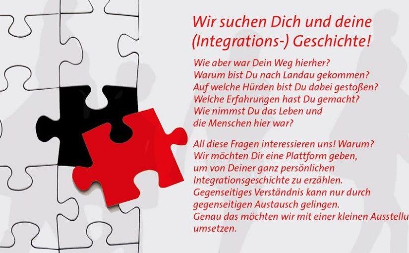 Wir suchen Dich und deine (Integrations-) Geschichte!