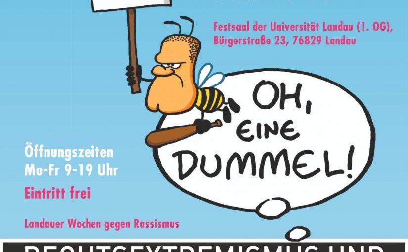 """""""Oh, eine Dummel – Rechtsextremismus und Menschenfeindlichkeit in Karikatur und Satire"""""""