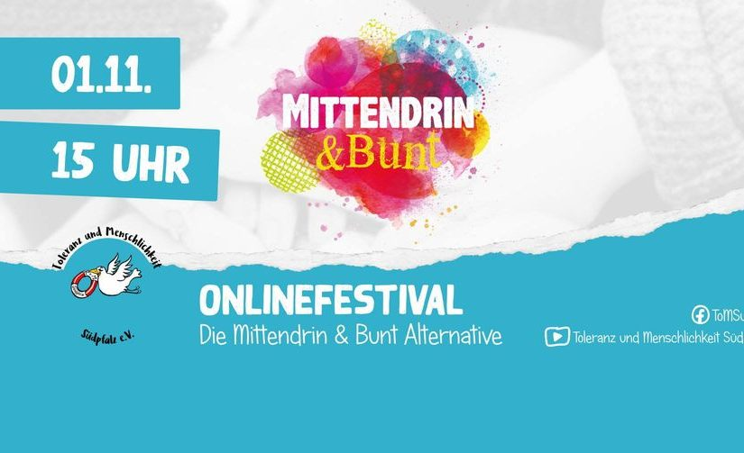 Onlinefestival: Mittendrin & Bunt Alternative