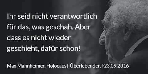 Gedenken an die Reichsprogomnacht