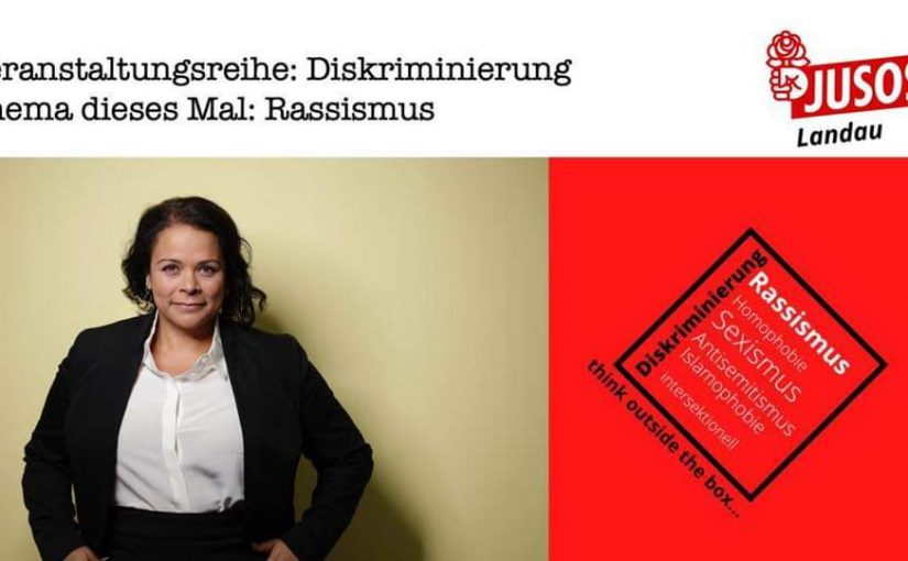 "Diskussionsveranstaltung ""Diskriminierung -think outside the box"" mit Giorgina Kazungu-Haß"